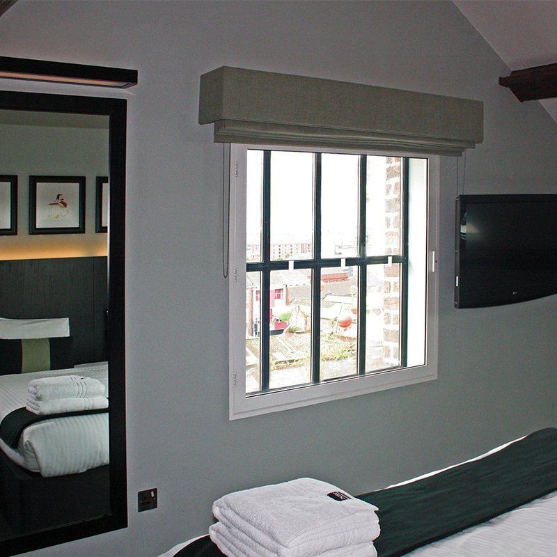 Base to Stay bedroom - Series 41 Hinged Casement -  selectaglaze secondary glazing window for noise insulation