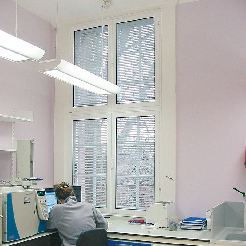 Series 41 Hinged Casement Secondary Glazing Installation in Cambridge BioLab