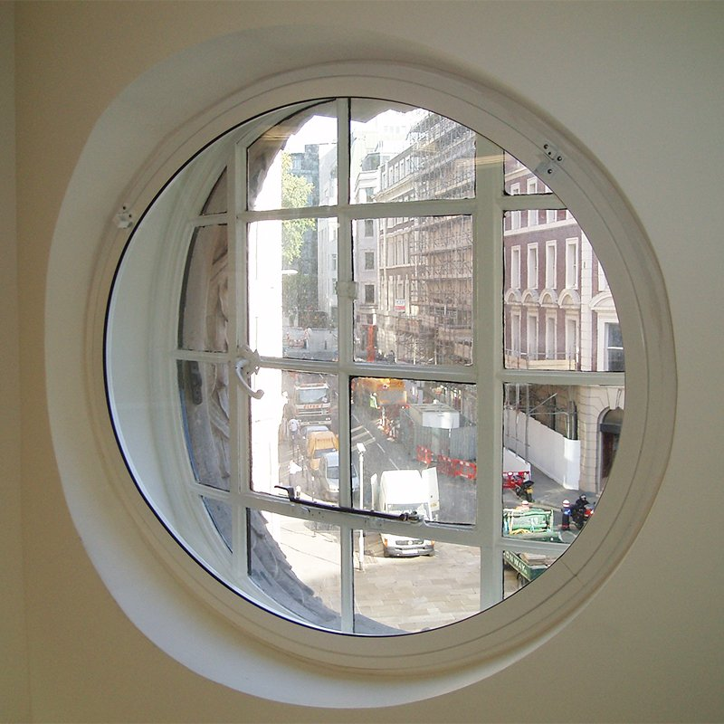 Series 45 Lift Out Secondary Glazed Round Window