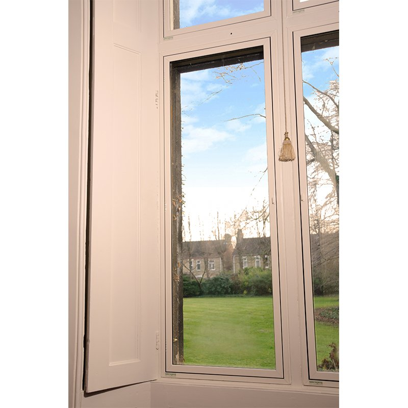 Series 47 heritage hinged casement, grade 2 listed property in Peterborough