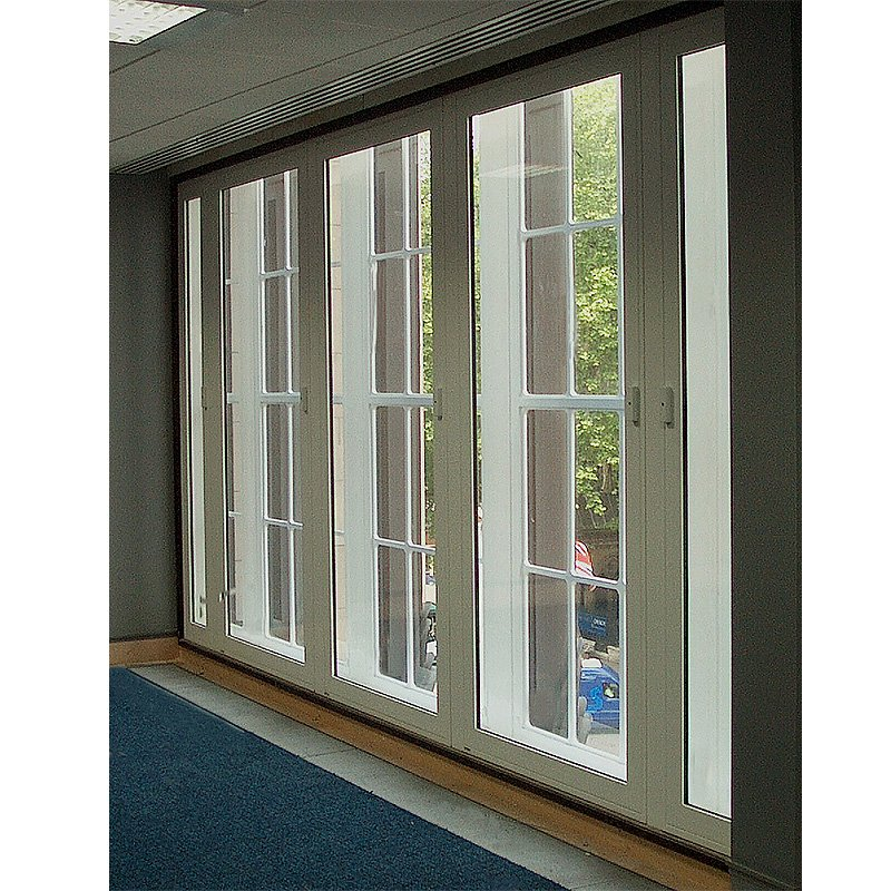 Selectaglaze secondary glazing series 50 hinged casement at Northcliffe House with security locking