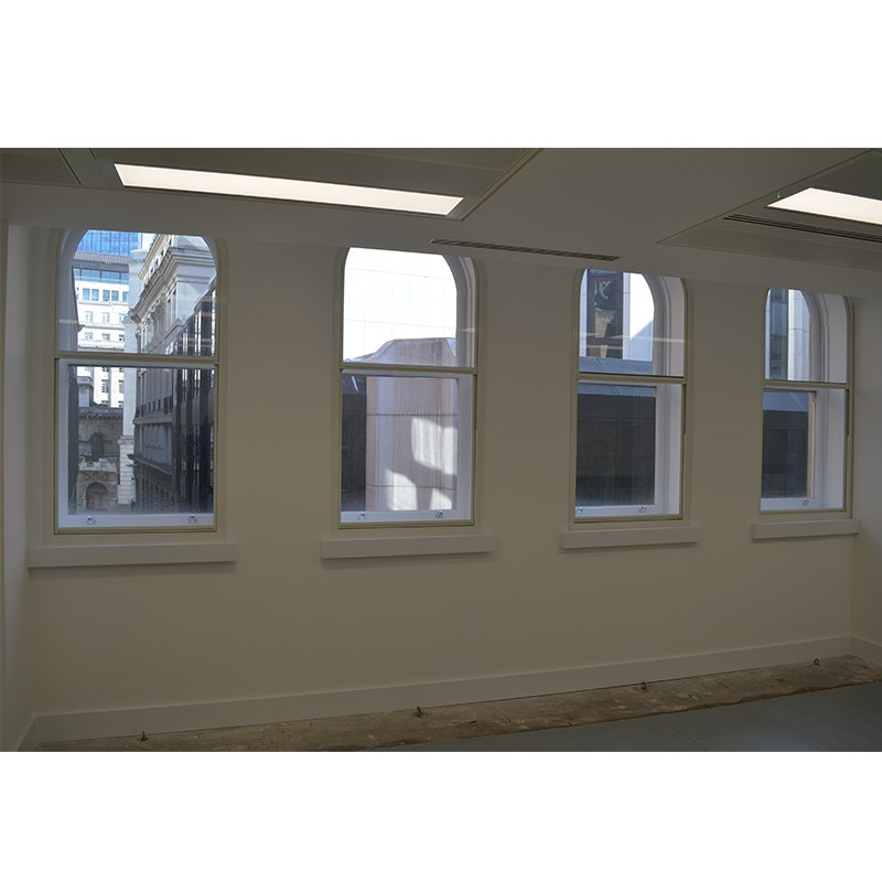 Noise reduction for offices in London with secondary glazing