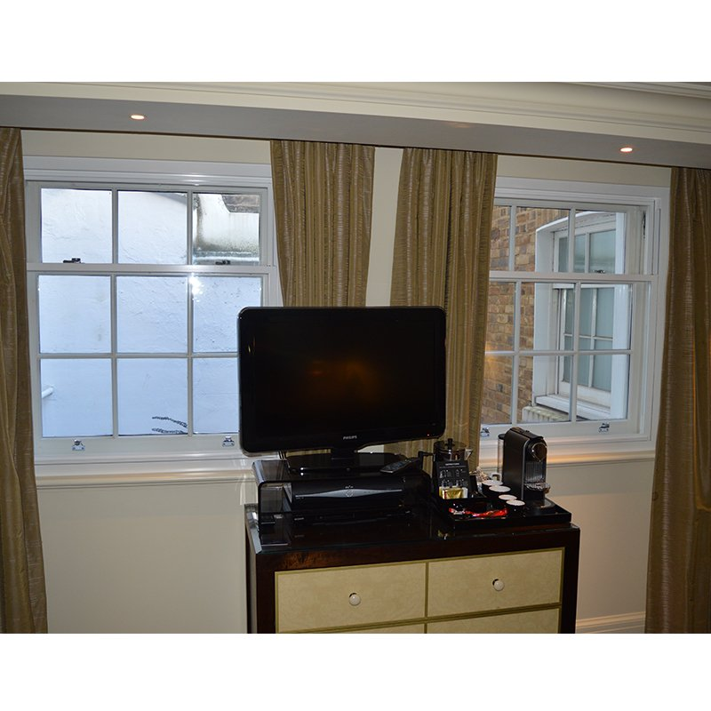 The Arch Hotel London has Selectaglaze secondary glazing installed