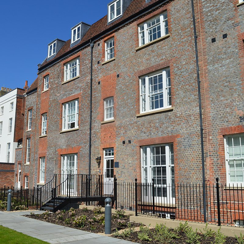Grade II Listed Buildings and a building on the risk register converted into stylish apartments by Thomas Homes