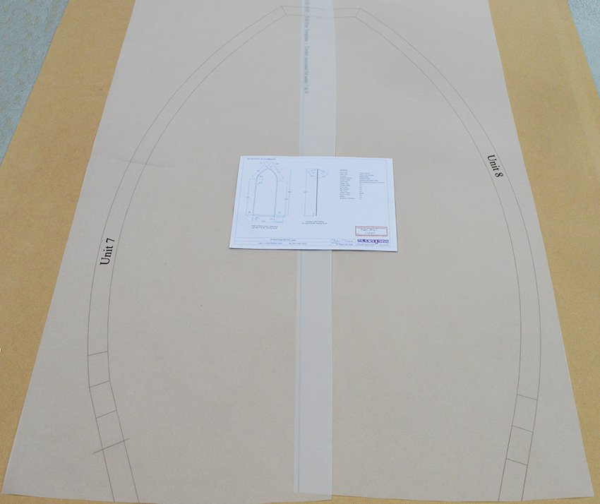 Tracing for face fixed gothic arch
