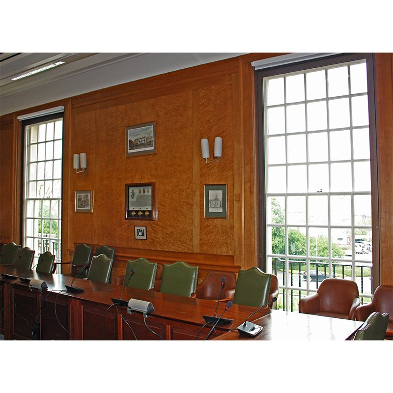 Wiltshire County Hall, Council Chambers with Selectaglaze secondary glazing, achieving BREEAM excellent