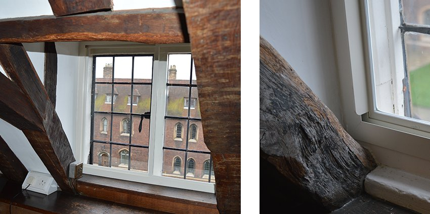 Window obstructions - timber beams