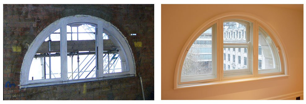 Victorian retrofit - curved window primary and secondary