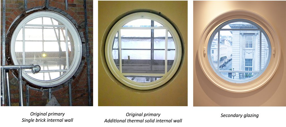 Commercial Victorian before and after treatment secondary windows